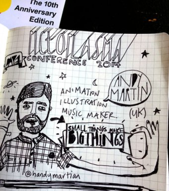 Notes from talks! you can watch em here... http://events.pictoplasma.com/talks