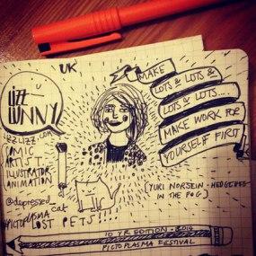 More lecture doodles!