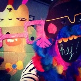 Mask making fun times