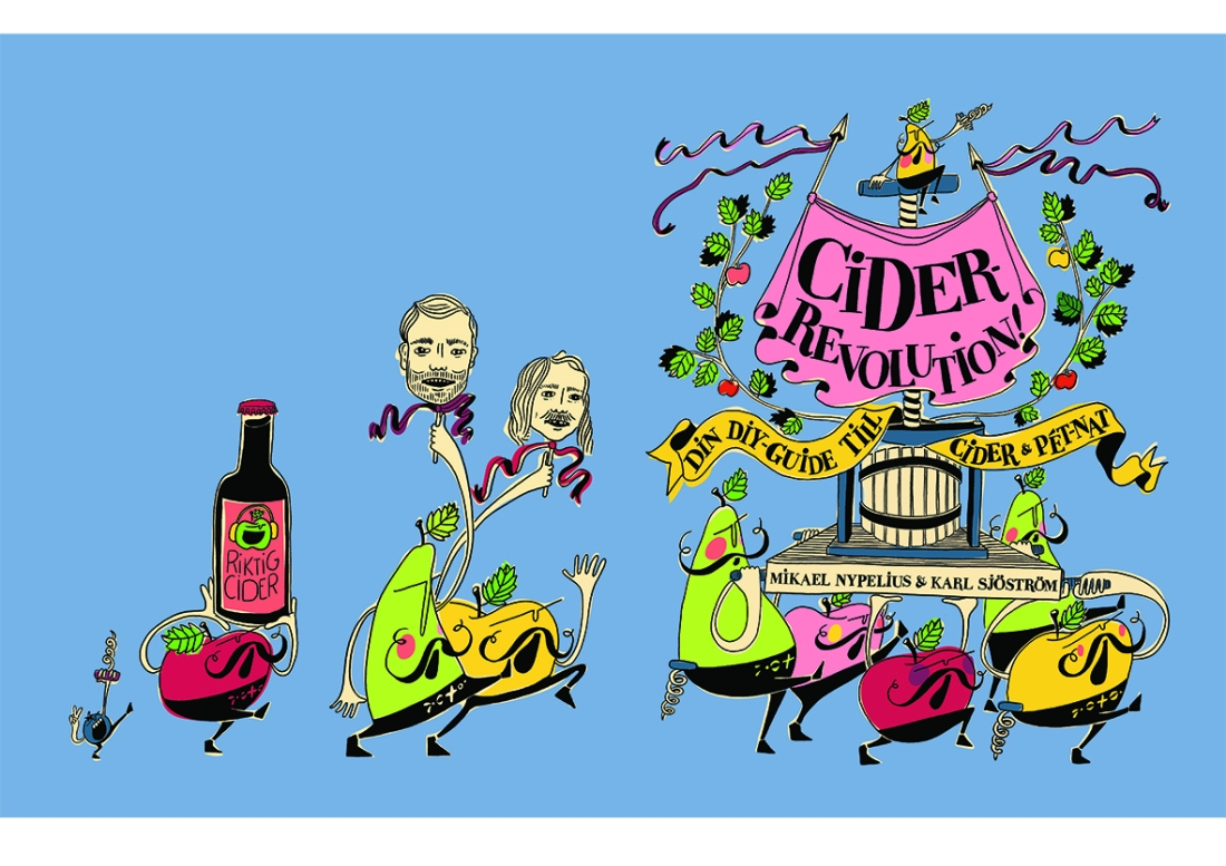 cider book illustration spreads 2