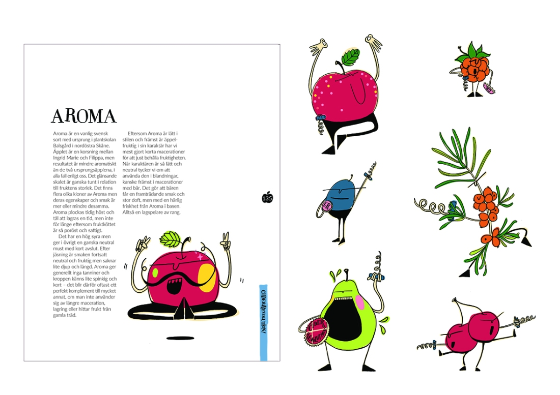 cider book illustration spreads 4